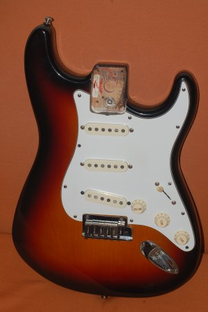 Fender Strat Plus body